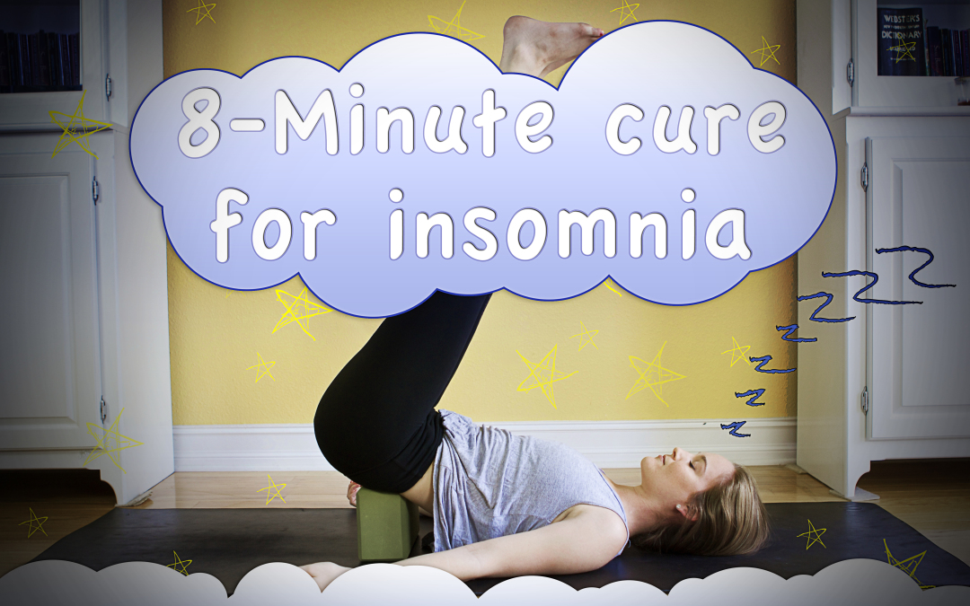 8-Minute Yoga Cure for Insomnia