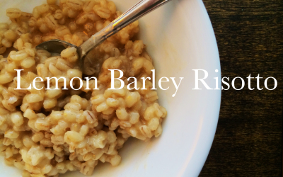 Bad Yogi Cleanse-Friendly Lemon Barley Risotto