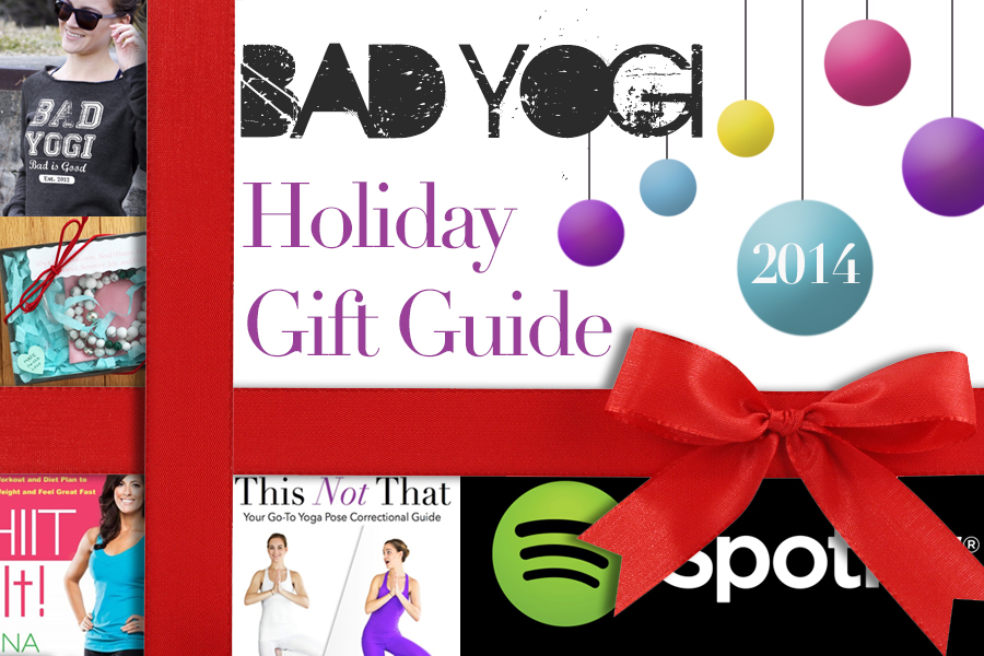 2014 Bad Yogi Christmas Gift Guide