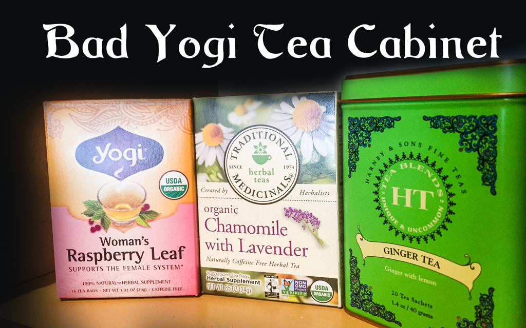 Bad Yogi Tea Cabinet Low-Down