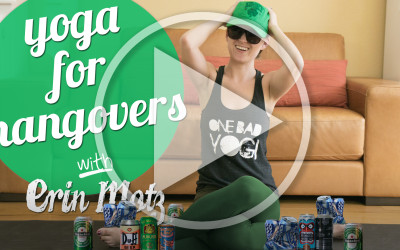 Bad Yogi Video: Yoga for Hangovers