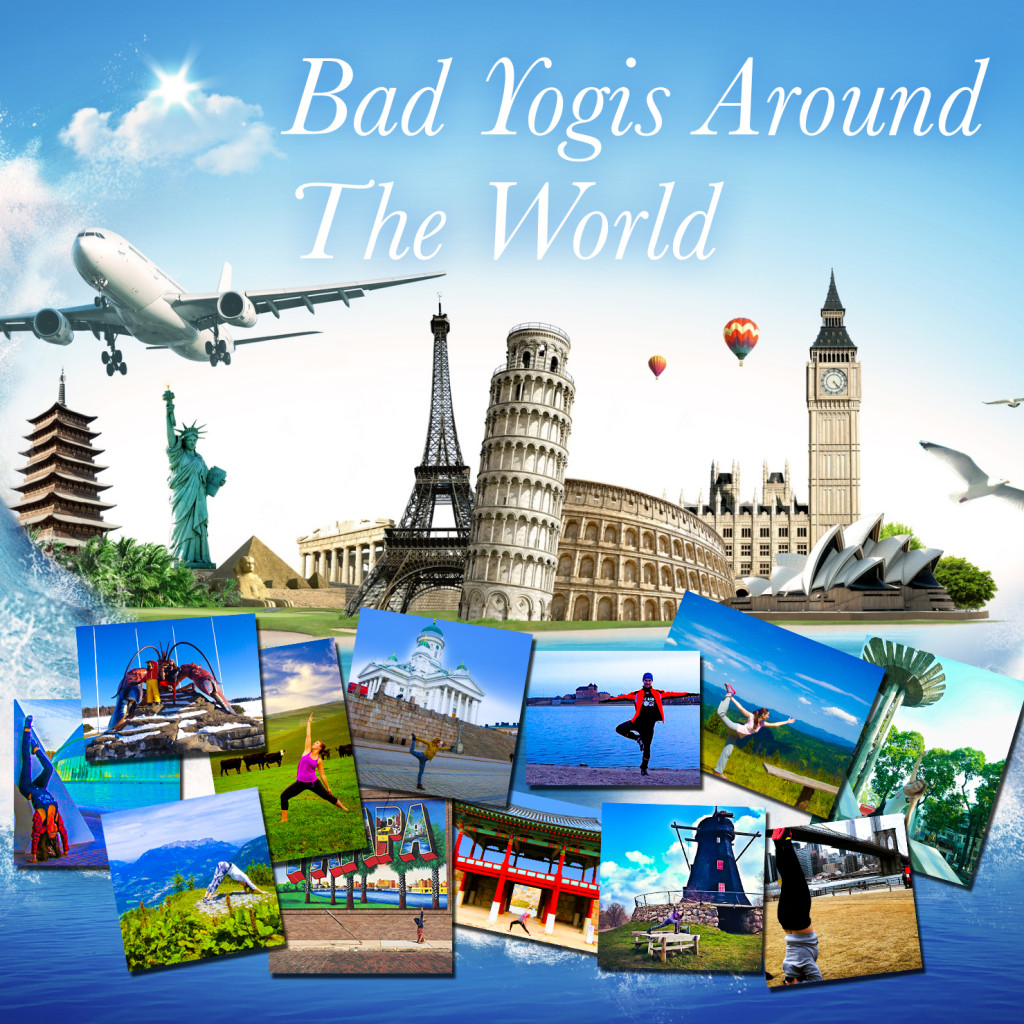 bad_yogis_aroundtheworld_collage