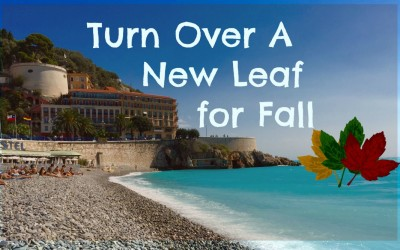 Fall & Turning Over A New Leaf